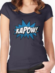 Kapow! Women's Fitted Scoop T-Shirt