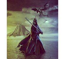 The Witch King of Angmar Photographic Print