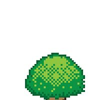 Pixel Tree by mpaev