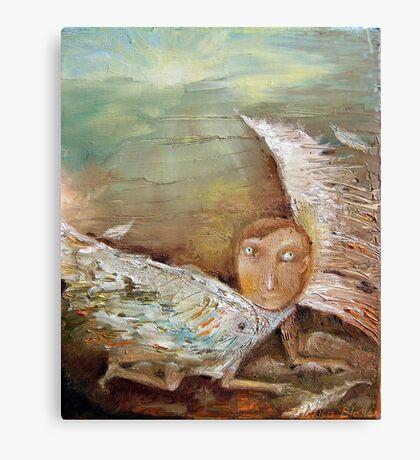 Fallen Icarus Canvas Print