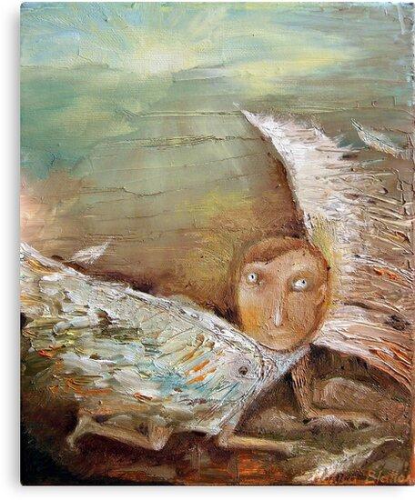 Fallen Icarus by Monica Blatton