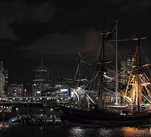 Tall Ship - Darling Harbour by yolanda