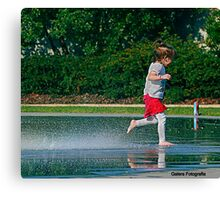 Water play Canvas Print