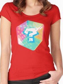 Mario Kart Item Block Women's Fitted Scoop T-Shirt