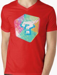 Mario Kart Item Block Mens V-Neck T-Shirt