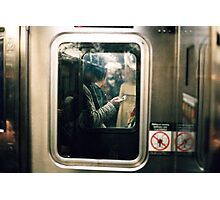 Y generation in NYC Photographic Print