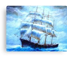 Colorful Seascape k Canvas Print