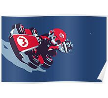 Mario Karting Poster