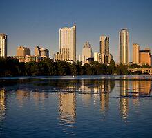 Austin Skyline by cyasick