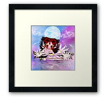 Daisy The Cute Little Water Fairy Framed Print