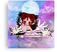 Daisy The Cute Little Water Fairy Canvas Print