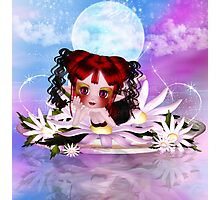 Daisy The Cute Little Water Fairy Photographic Print