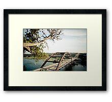 Pennybacker Bridge - 2 Framed Print