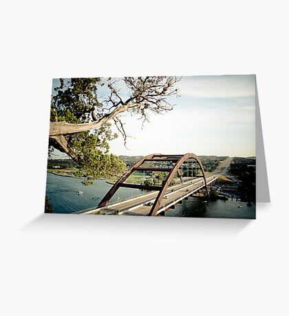 Pennybacker Bridge - 2 Greeting Card