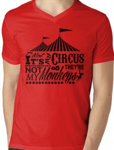 It's A Circus Mens V-Neck T-Shirt