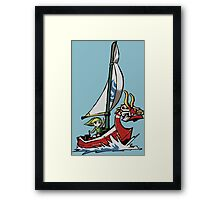 The Hero and the King Framed Print