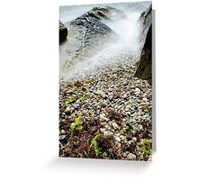 Gooseberry Beach, Newport, RI Greeting Card