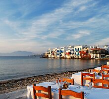 Little Venice, Mykonos by Vivi Chanioti