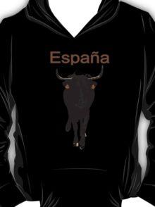 Espana, Spain, bull T-Shirt