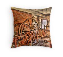 Wood Worker's Shop Throw Pillow