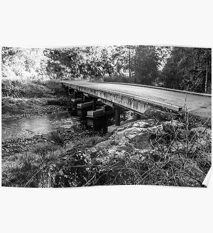 Bucketts Way Bridge - Gloucester Poster