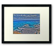 Isla Mujeres Framed Print