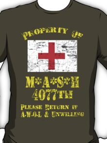 Property Of Mash 4077th T-Shirt