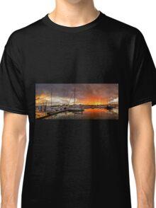 Sunset Storm - Raby Bay Qld Australia Classic T-Shirt