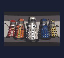 5 Shades of Dalek Kids Tee