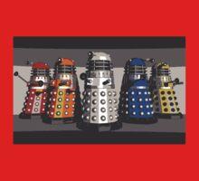 5 Shades of Dalek One Piece - Short Sleeve
