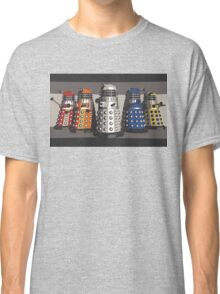 5 Shades of Dalek Classic T-Shirt
