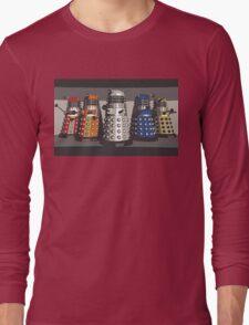 5 Shades of Dalek Long Sleeve T-Shirt
