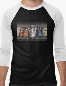 5 Shades of Dalek Men's Baseball ¾ T-Shirt