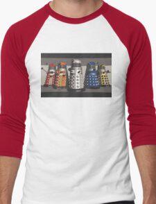5 Shades of Dalek Men's Baseball ¾ T-Shirt