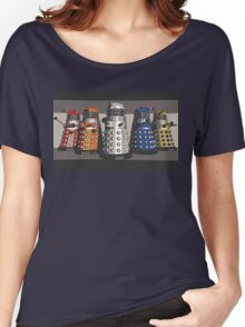5 Shades of Dalek Women's Relaxed Fit T-Shirt