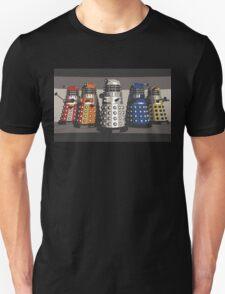 5 Shades of Dalek Unisex T-Shirt