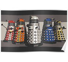 5 Shades of Dalek Poster