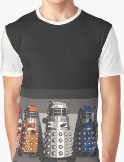 5 Shades of Dalek Graphic T-Shirt