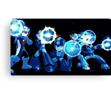 Mega-Man Generations Canvas Print