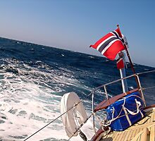 """""""A rolling passage"""" across the Irish Sea by globeboater"""