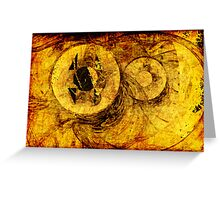 Timescapes Greeting Card
