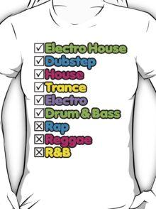 I Listen To: T-Shirt