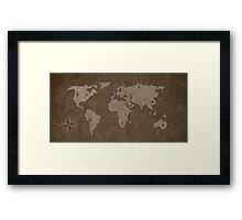 Nine holds of Earth Framed Print