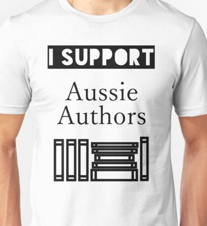 I Support Aussie Authors T-Shirt