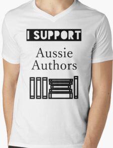 I Support Aussie Authors Mens V-Neck T-Shirt