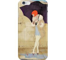 Rainy Day Flower iPhone Case/Skin