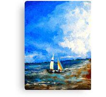 Colorful Seascape o Canvas Print