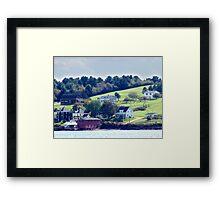 Western Shore, Mahone Bay Framed Print
