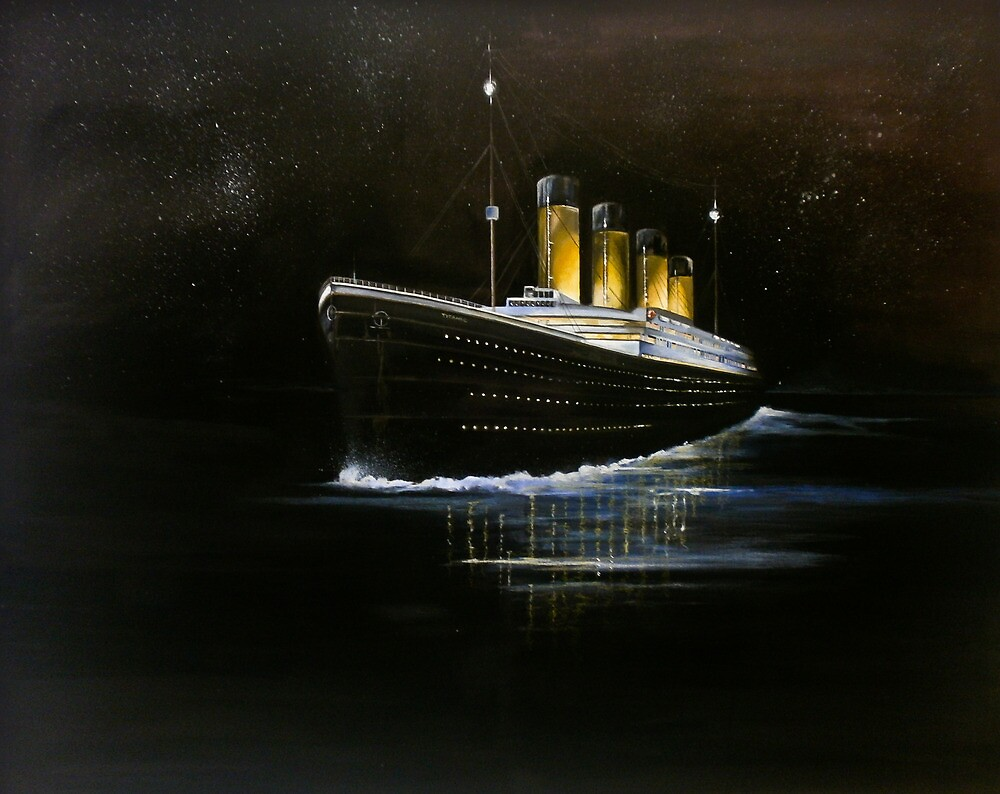 RMS Titanic by Vikki Hastings