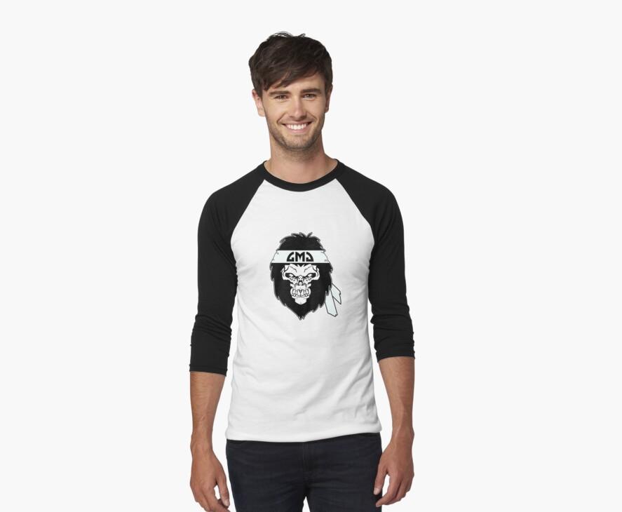 Gorilla Skull by gorillamask